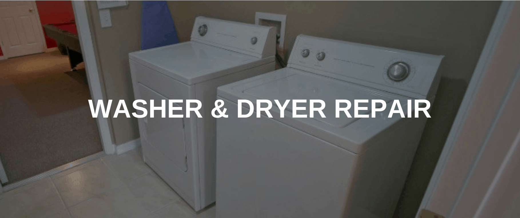 washing machine repair arlington